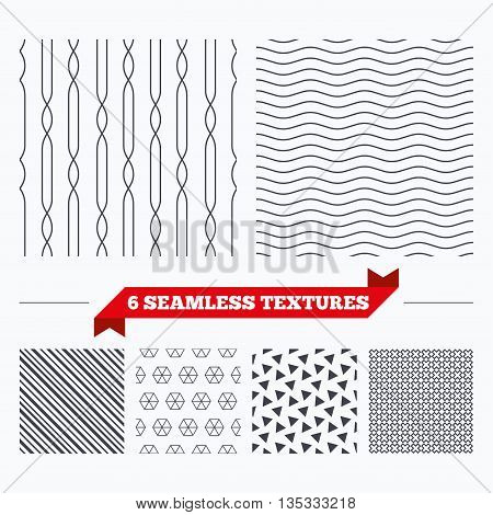 Diagonal lines, waves and geometry design. Lines with ellipse texture. Stripped geometric seamless pattern. Modern repeating stylish texture. Material patterns.