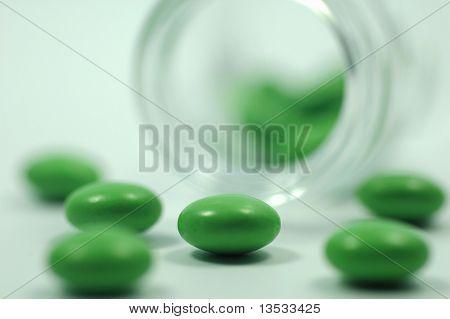 Macro Of Various Pill