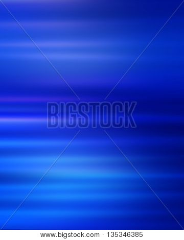 Motion blurred lights abstract background blue defocused blur texture