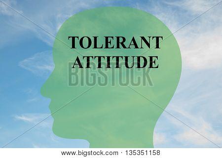 Tolerant Attitude Mental Concept