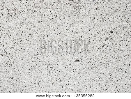 close up Grey porosity Stone texture background.
