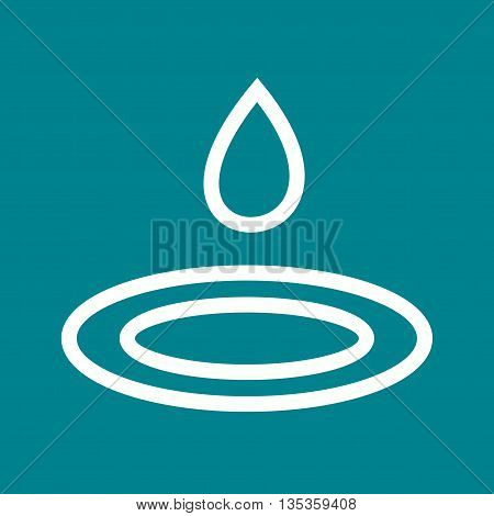 Water, drops, pure icon vector image. Can also be used for spa. Suitable for mobile apps, web apps and print media.