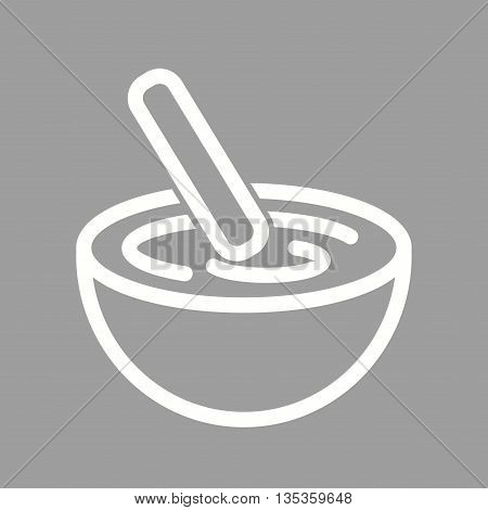 Bowl, mixing, cake icon vector image. Can also be used for spa. Suitable for mobile apps, web apps and print media.