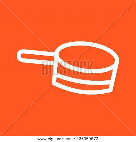 Sauce, pan, tomato icon vector image. Can also be used for spa. Suitable for use on web apps, mobile apps and print media.