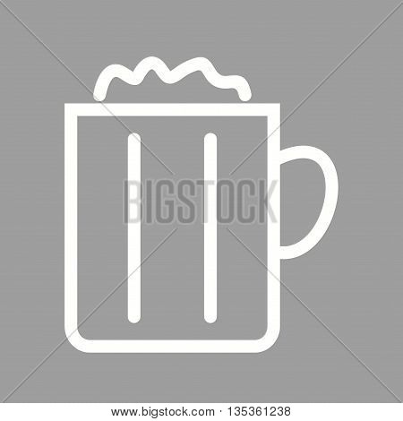 Beer, glass, pub icon vector image.Can also be used for celebrations. Suitable for mobile apps, web apps and print media.