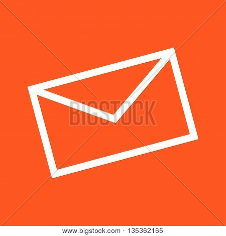 Email, mail, message icon vector image. Can also be used for celebrations. Suitable for web apps, mobile apps and print media.
