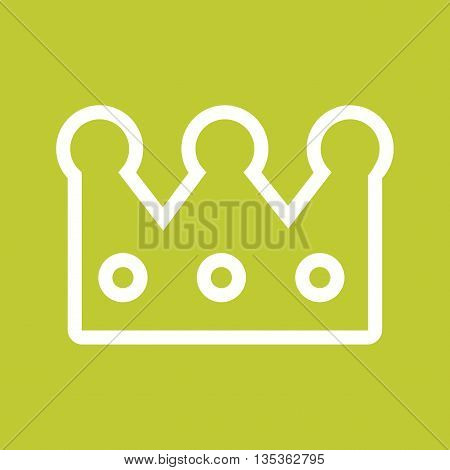Crown, princess, king icon vector image. Can also be used for celebrations. Suitable for web apps, mobile apps and print media.