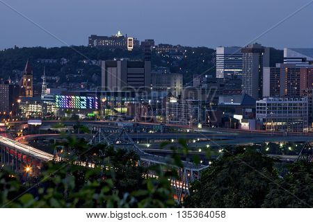 Cincinnati, Ohio from Covington, Kentucky