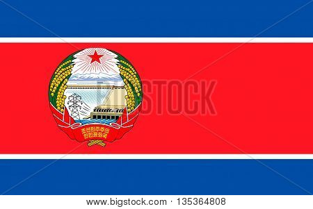 Flag of North Korea officially the Democratic Peoples Republic of Korea is a country in East Asia in the northern part of the Korean Peninsula.