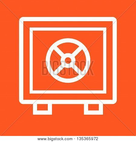 Vault, safe, locker icon vector image.Can also be used for finances trade. Suitable for web apps, mobile apps and print media.
