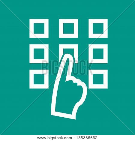 Pattern, safe, lock icon vector image. Can also be used for finances trade. Suitable for use on web apps, mobile apps and print media.