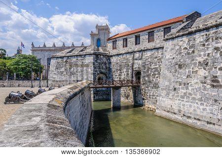 Fortress In La Habana Vieja, Cuba