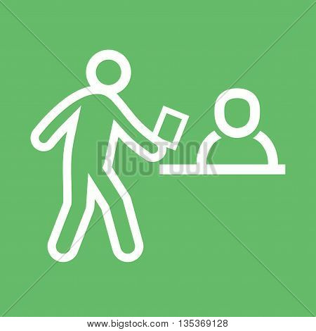 Hands, shaking, job icon vector image. Can also be used for employment. Suitable for use on web apps, mobile apps and print media.