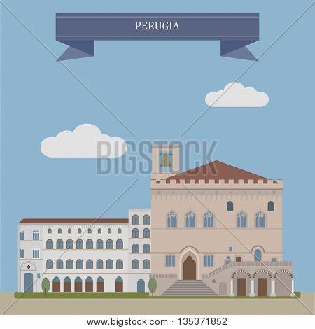 Perugia, City In Italy