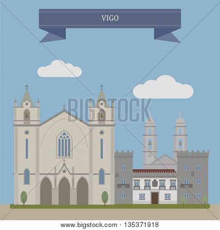 Vigo, City In Spain