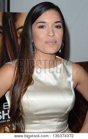 LOS ANGELES - JUN 21:  Alicia Sixtos at the Septembers of Shiraz Premiere at the Museum of Tolerance on June 21, 2016 in Los Angeles, CA