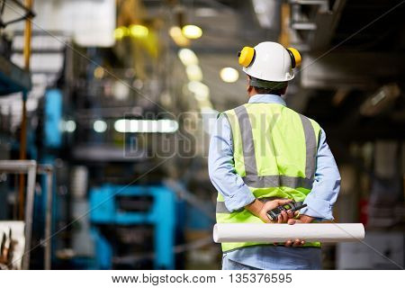 Back of foreman
