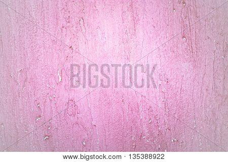 Pink Design Vintage Grunge Wall Plaster Texture