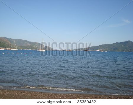 Travel in Marmaris, Turkey on the Aegean Sea
