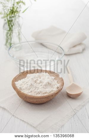 recipes for home made cosmetics on white