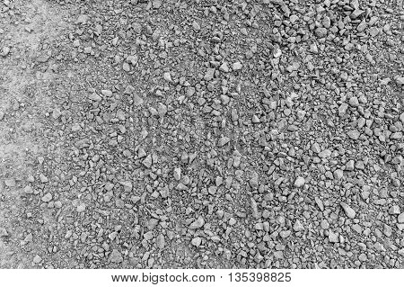 Gravel as background or texture, for use website