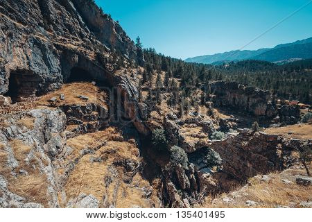 photography of a Valley, Rocks and Stones of Cappadocia, Turkey