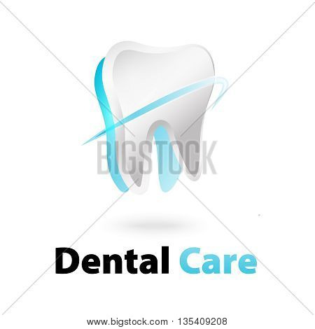 dental care logo design 100% vector re editable and re sizable