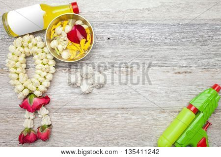 Thai traditional : Songkran Festival at Thailand