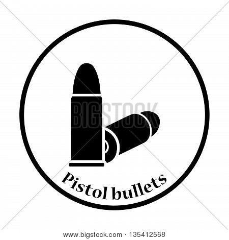 Pistol Bullets Icon
