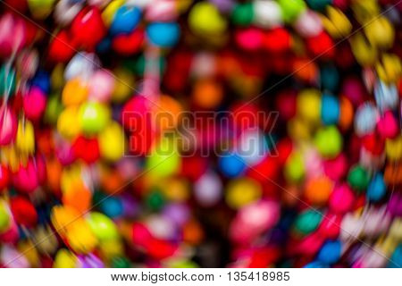 Abstract Swirly Blurred Background