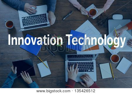 Innovation technology concept.