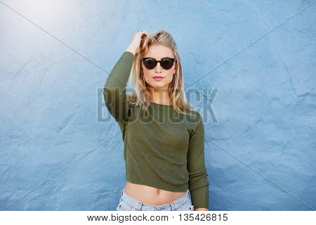 Trendy Casual Young Woman