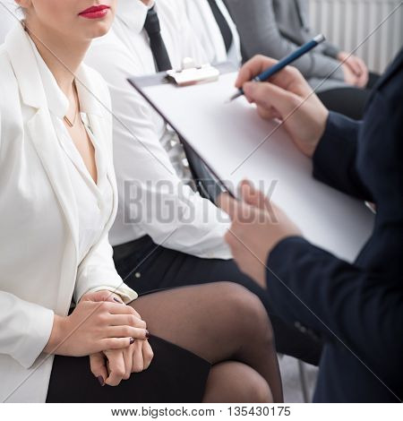 Job Interview In The Office