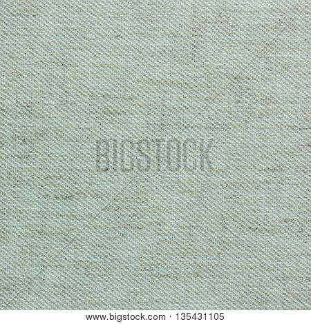 Closeup detail of beige fabric texture background