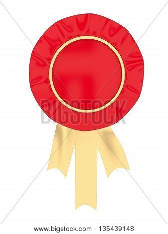 3D Ribbon Badge Concept
