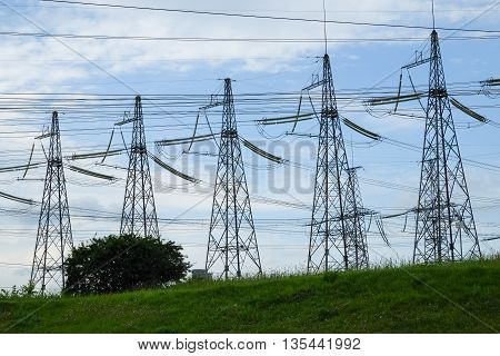 Electricity High Voltage Towers