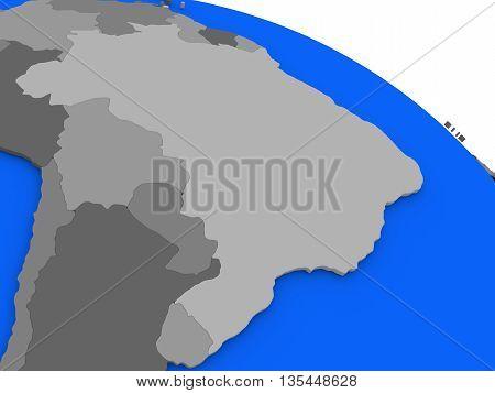 Brazil On Political Earth Model