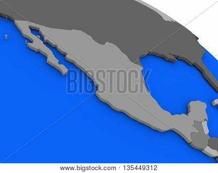 Mexico On Political Earth Model