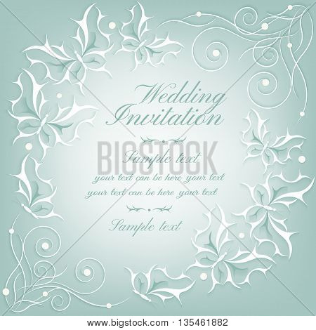 Abstract  Invitation Card