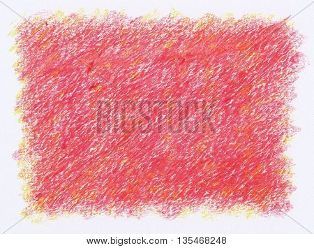 intense red close up rough textures red crayon abstract background