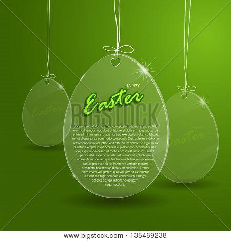 Easter Egg Glass