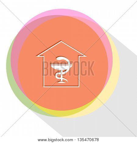 pharmacy. Internet template. Vector icon.
