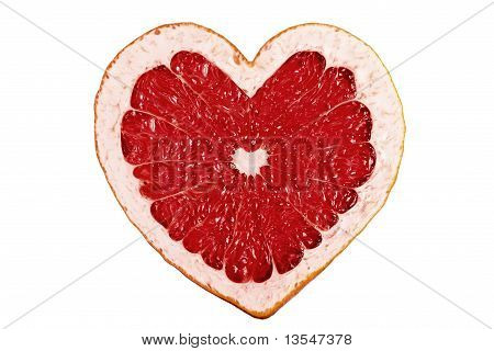 Red Fruit Heart