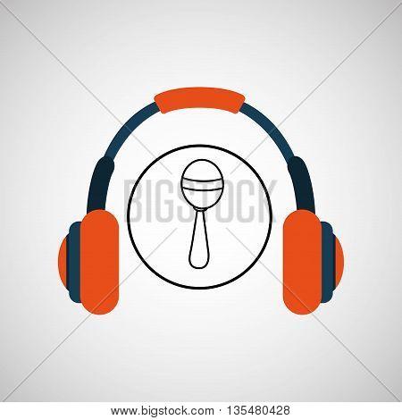 musical instrument  design, vector illustration eps10 graphic