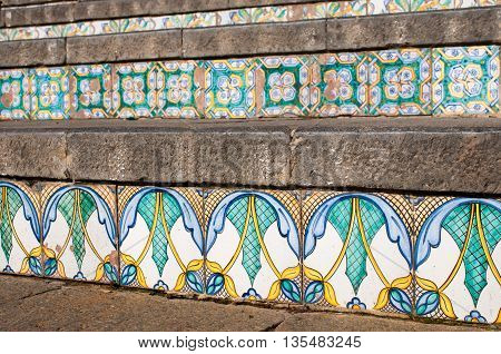 Caltagirone Ceramiic Staircase
