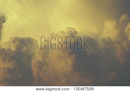 abstract of cloud scape for background used