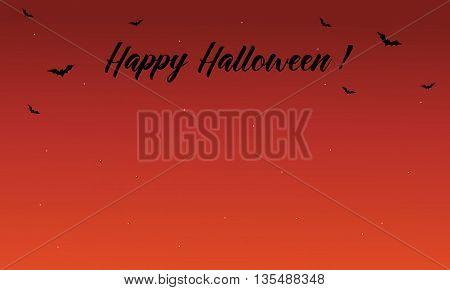 Happy Halloween cute backgrounds vector art illustration