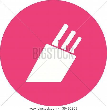 Knife, kitchen, chef icon vector image. Can also be used for kitchen. Suitable for use on web apps, mobile apps and print media.