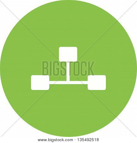 Internet, connection, share icon vector image.Can also be used for data sharing. Suitable for mobile apps, web apps and print media.