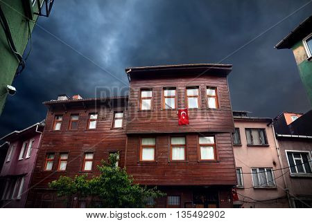Old Houses In Istanbul